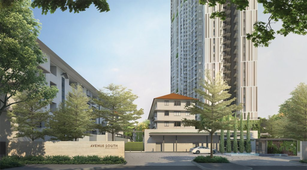 Avenue south residences singapore